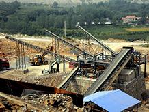 福建客人碎石机设备生产线