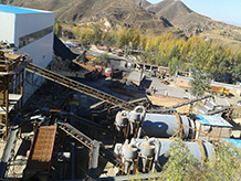 江西选钨矿设备生产现场