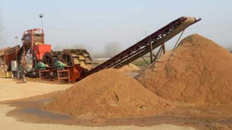 广西全套洗沙设备流程时产80方工程案例